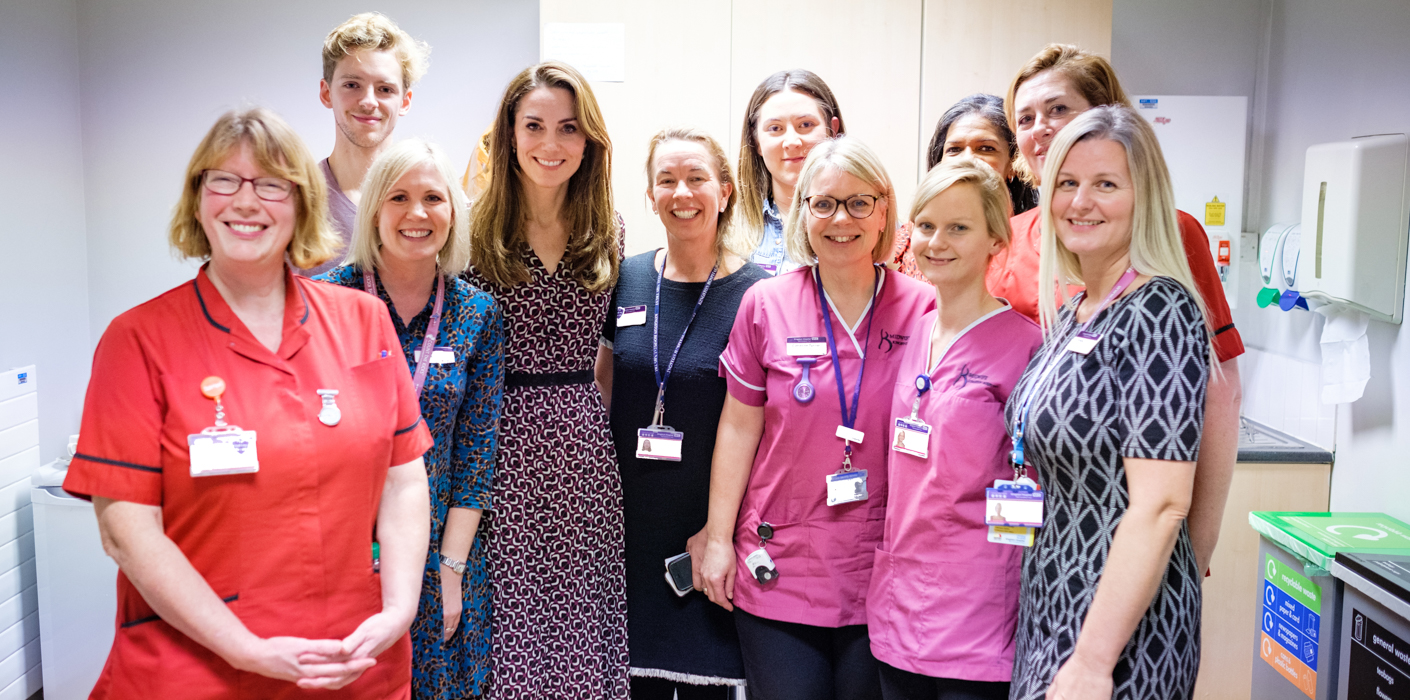 The Duchess of Cambridge has written an open letter to midwives across the country.