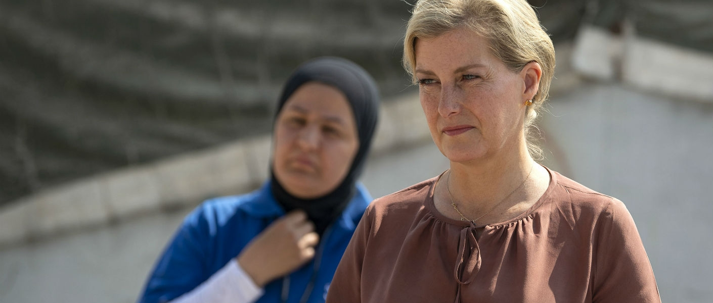 The Countess of Wessex's work to support women in conflict around the world