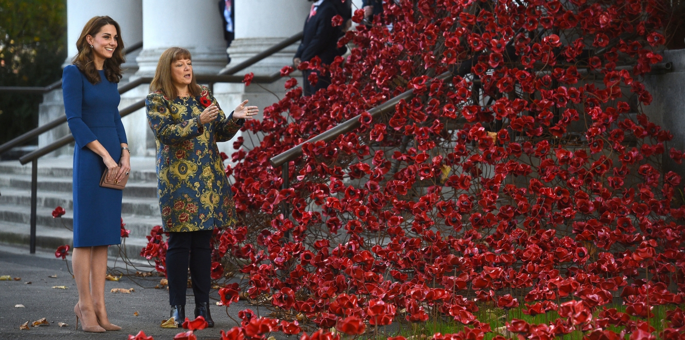 The Duchess of Cambridge at the Imperial War Museum