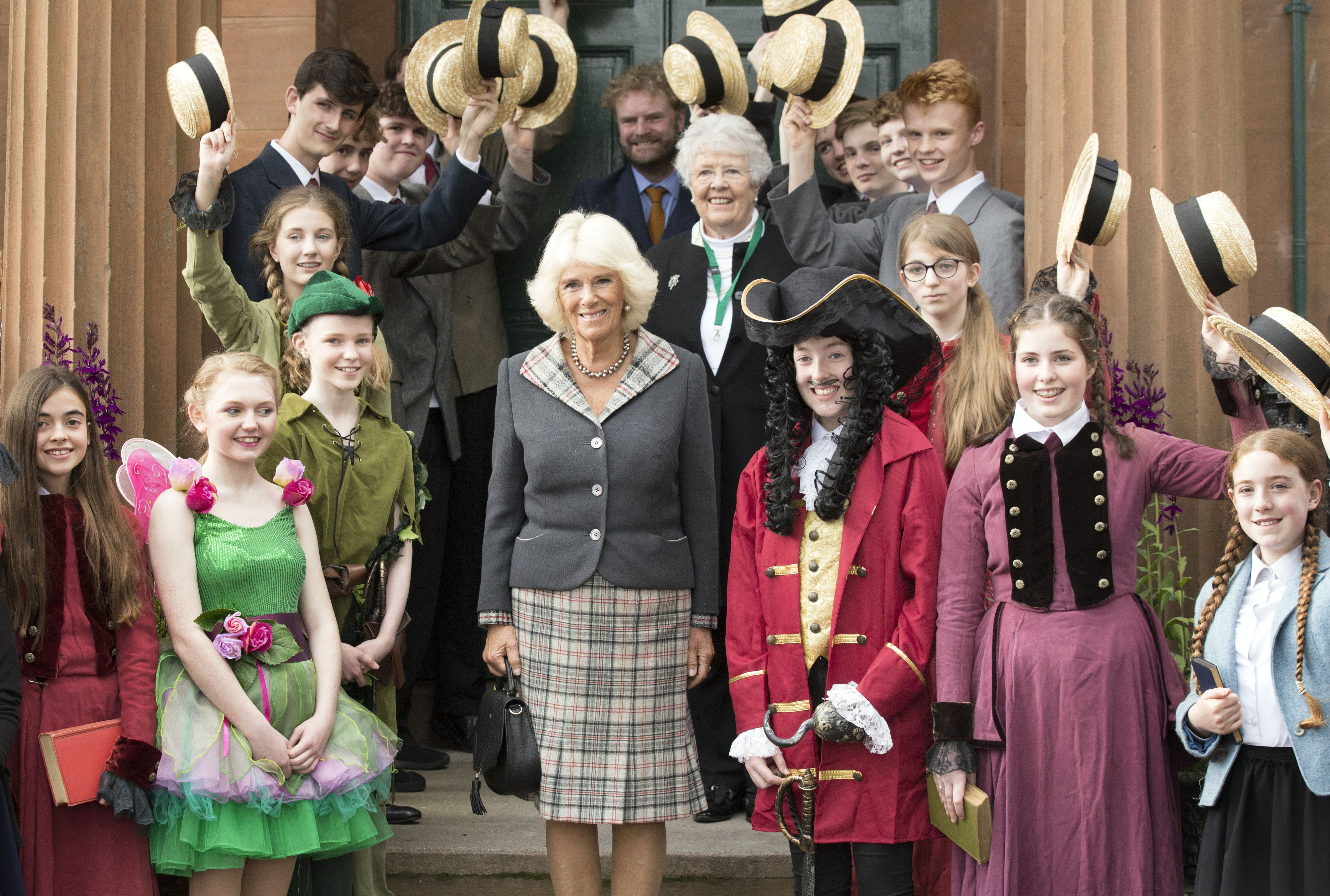 The Duchess of Rothesay visits Moat Brae House