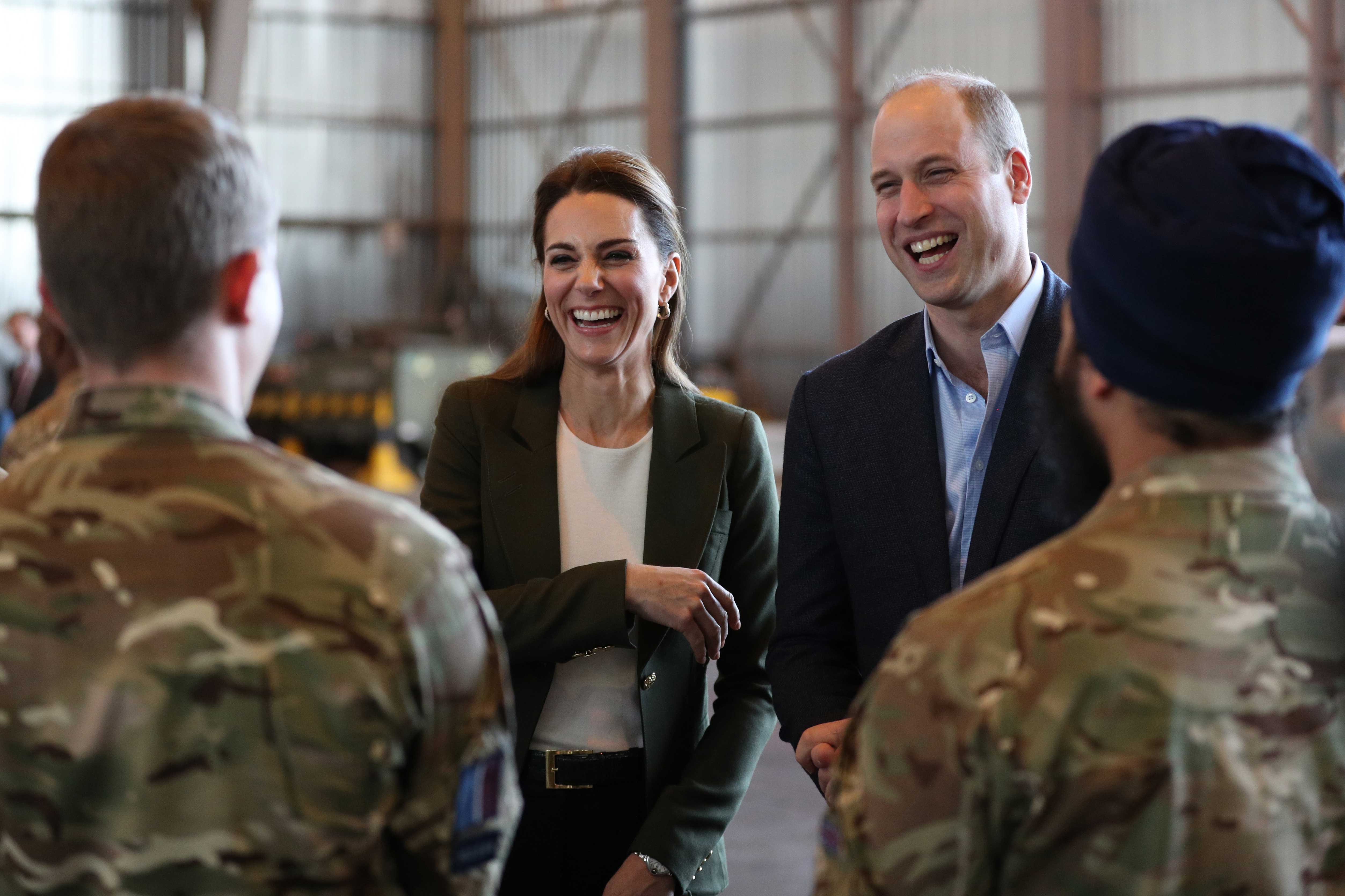 The Duke and Duchess of Cambridge in Cyprus Delivering a Message of Support to Military Stationed there