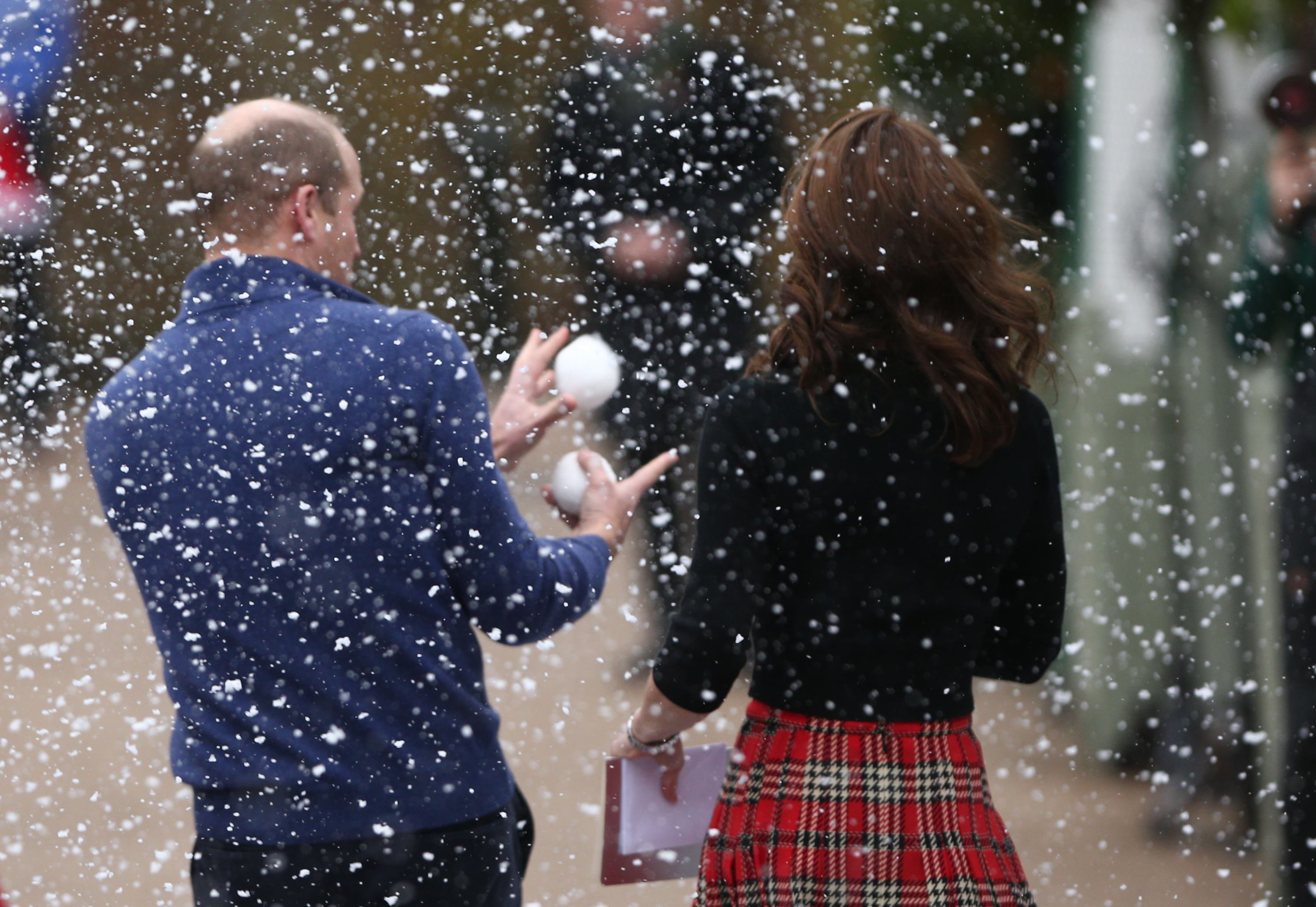 The Duke and Duchess of Cambridge Host a Christmas Party for Families of Deployed Military Personnel