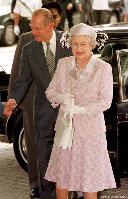 The Queen and The Duke of Edinburgh attend the 1998 Commonwealth Games in Malaysia