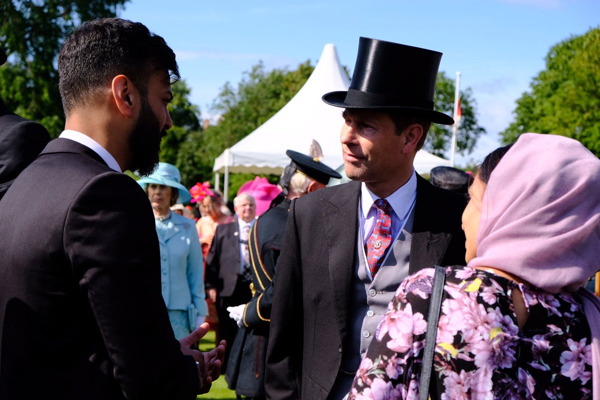 The Earl of Forfar Garden Party The Palace of Holyroodhouse