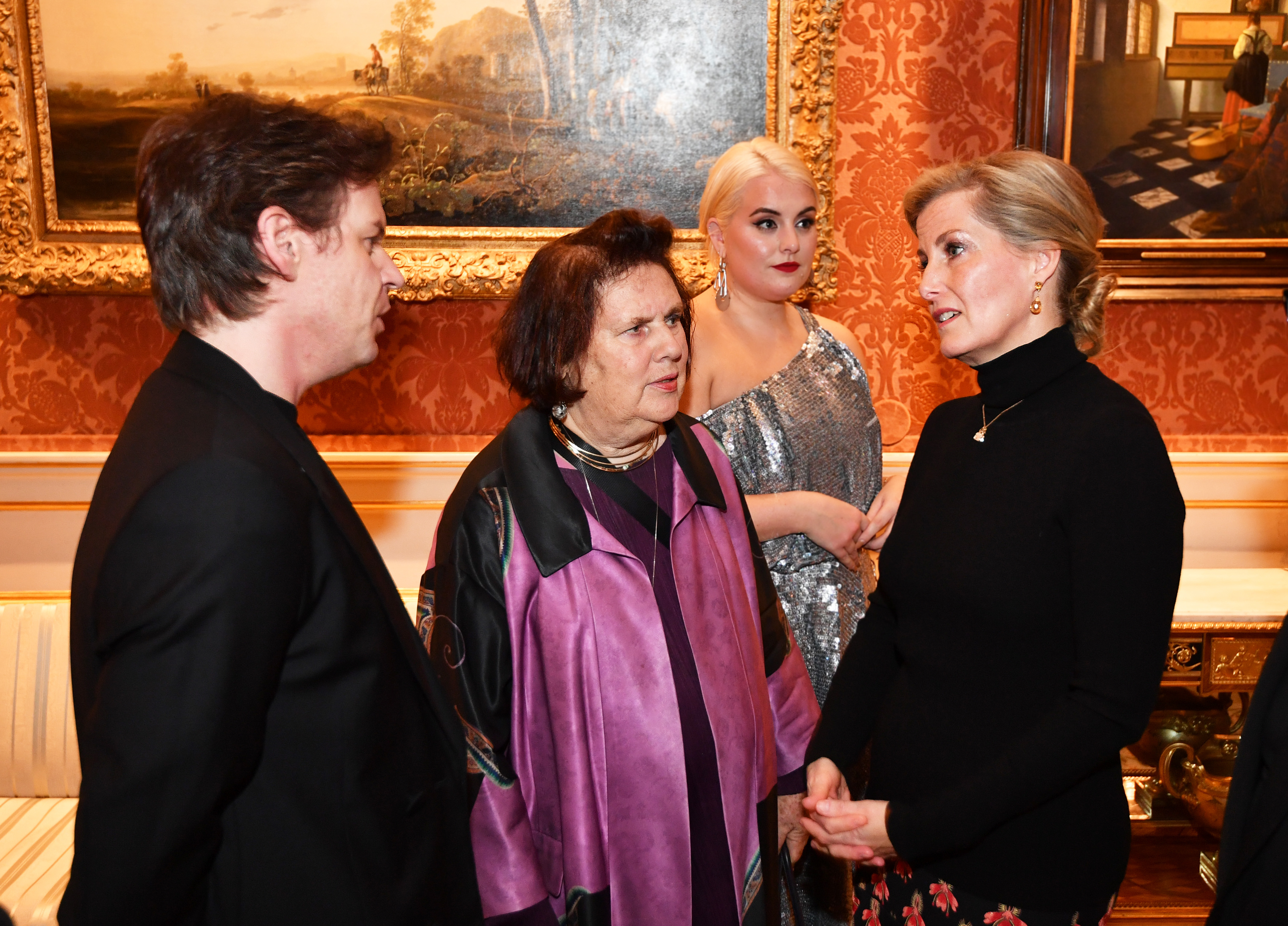 The Countess of Wessex Hosts a Fashion Reception at Buckingham Palace