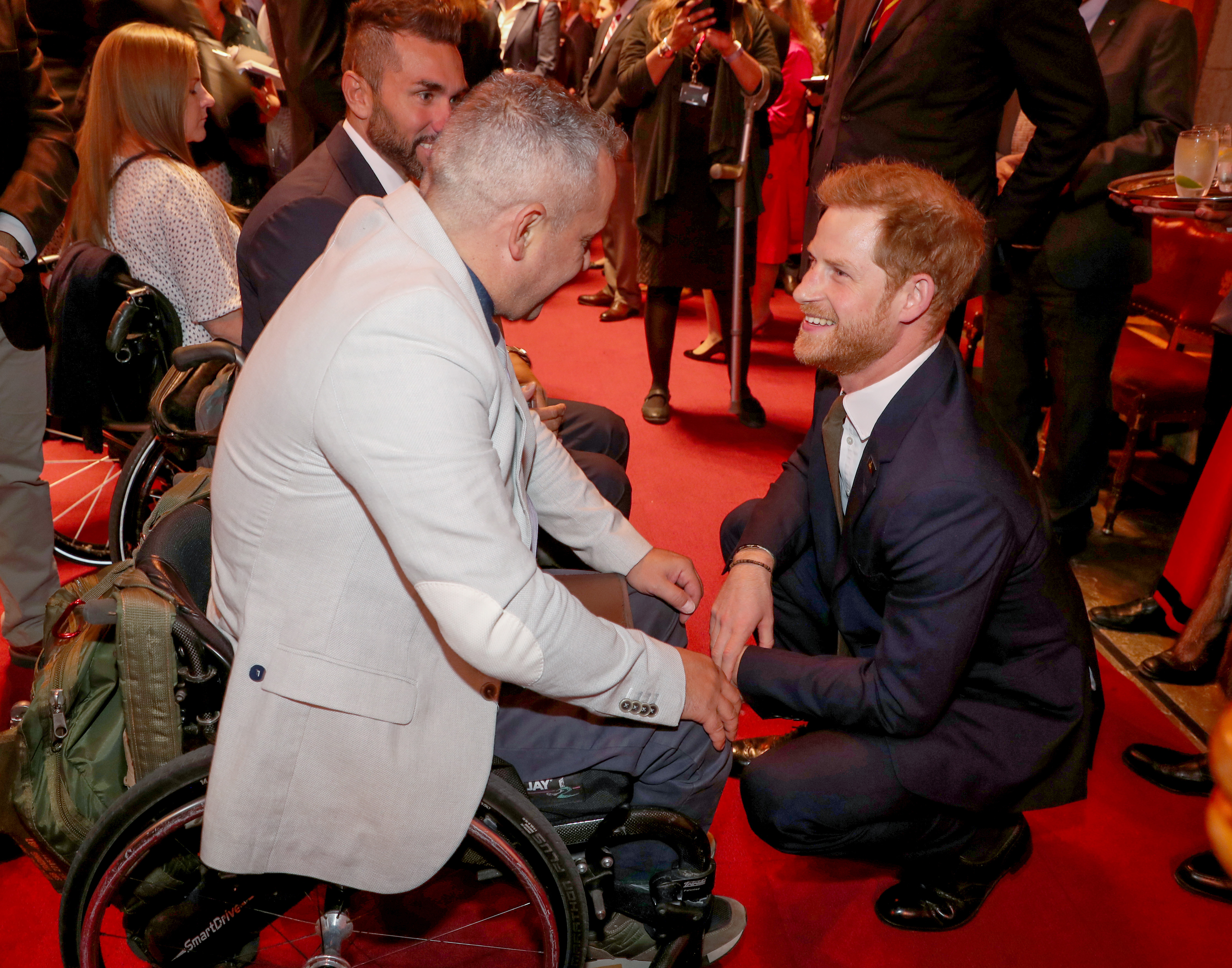 The Duke of Sussex celebrates 5 years of The Invictus Games