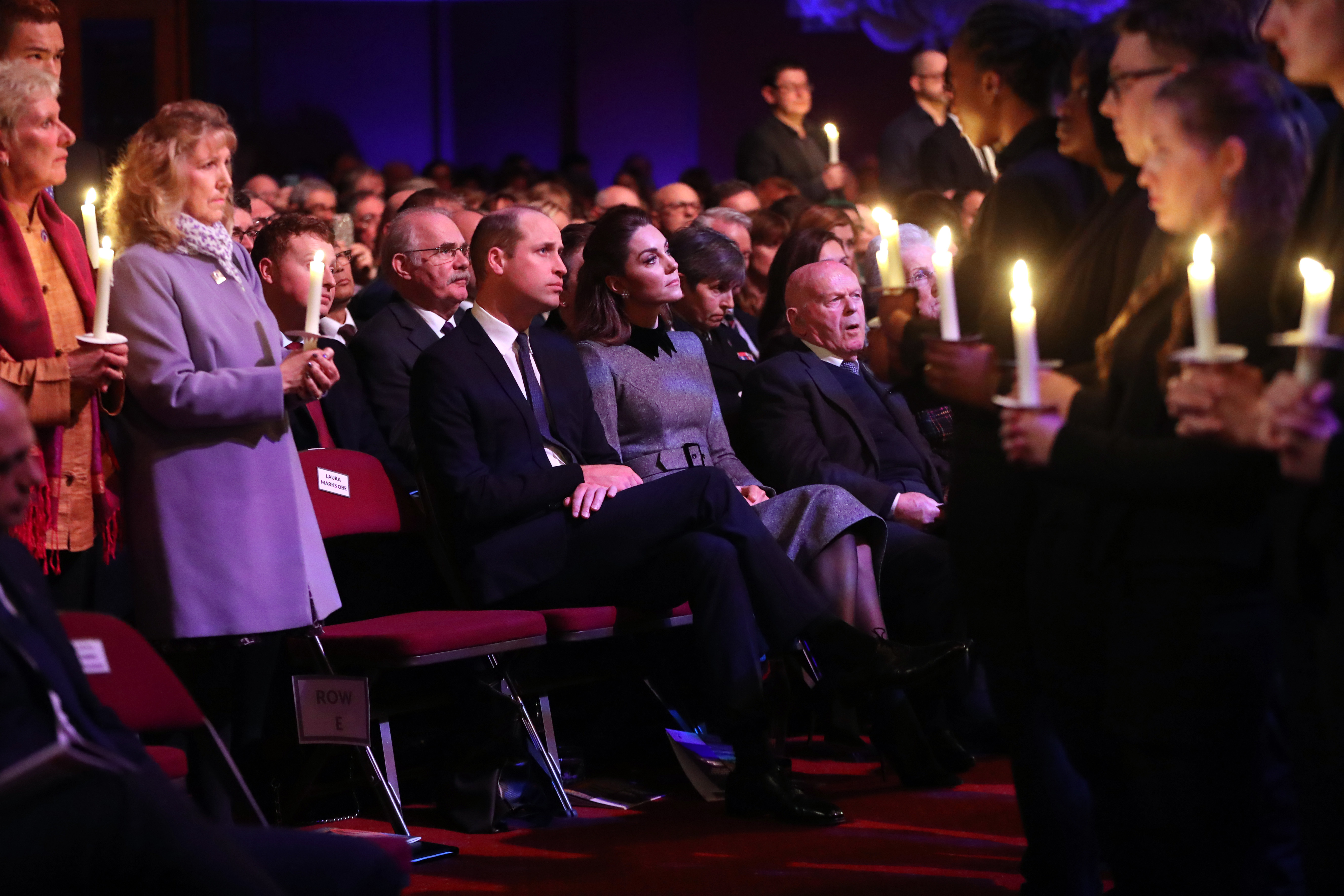 The Duke and Duchess of Cambridge attend a Holocaust Memorial Day Service in London