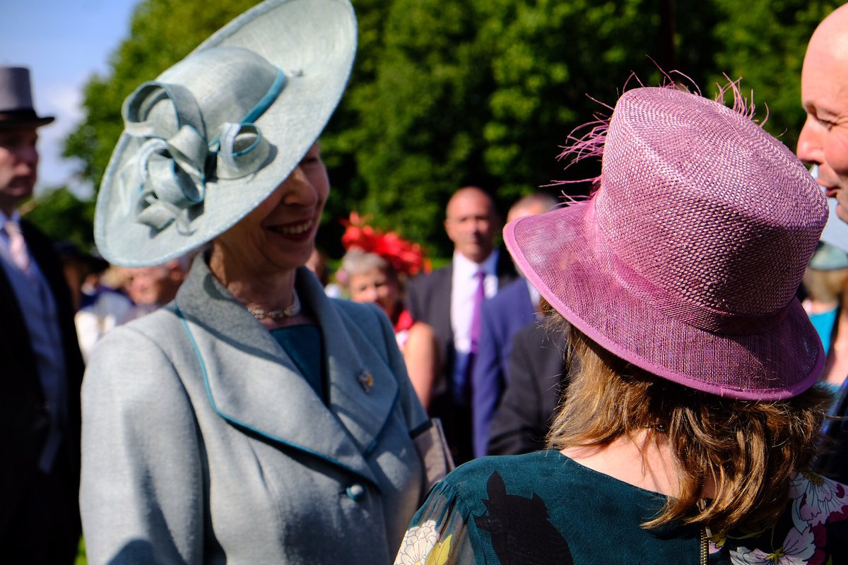 The Princess Royal Palace of Holyroodhouse Garden Party