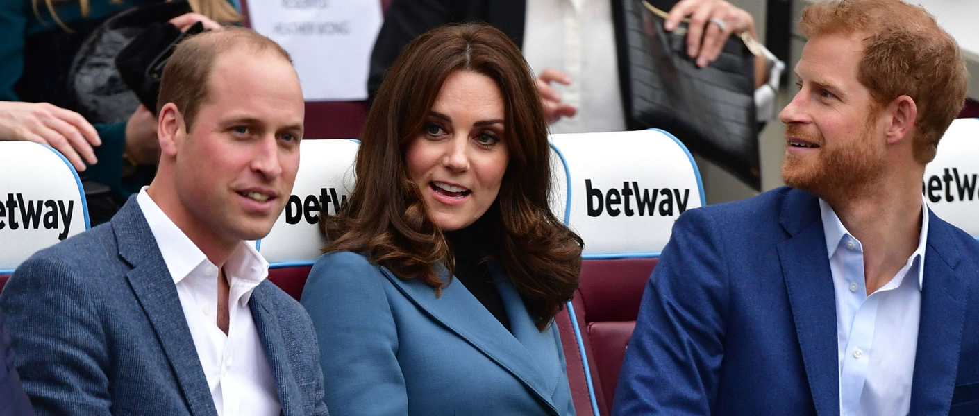 The Duke and Duchess of Cambridge and Prince Harry attend the Coach Core Graduation Ceremony