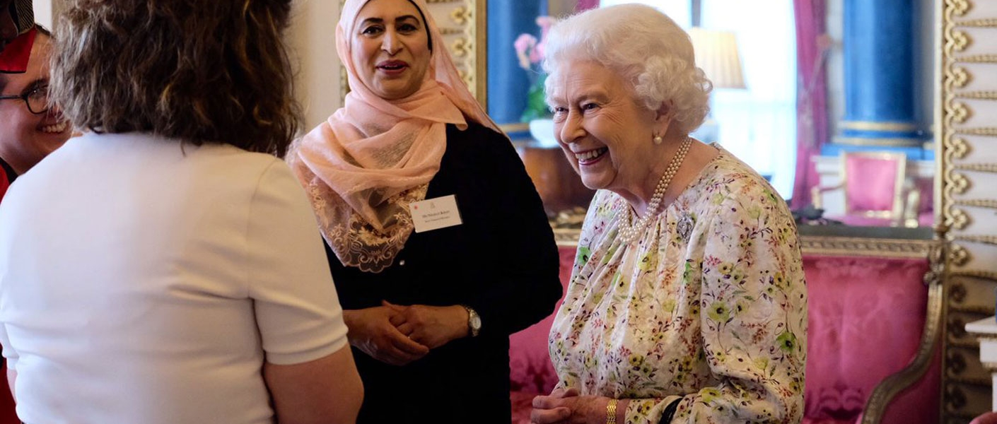 The Queen, who is Head of the Church of England, was joined by The Duchess of Gloucester