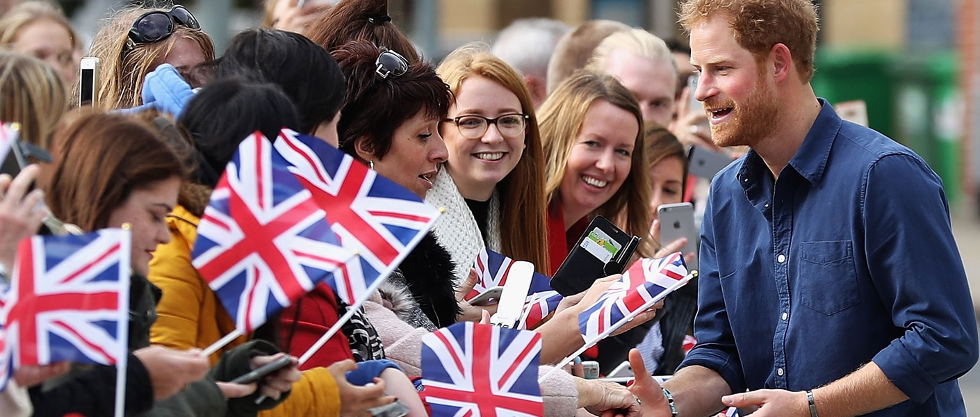 Prince Harry visits Nottingham for a day focusing on youth initiatives and supporting local communities...