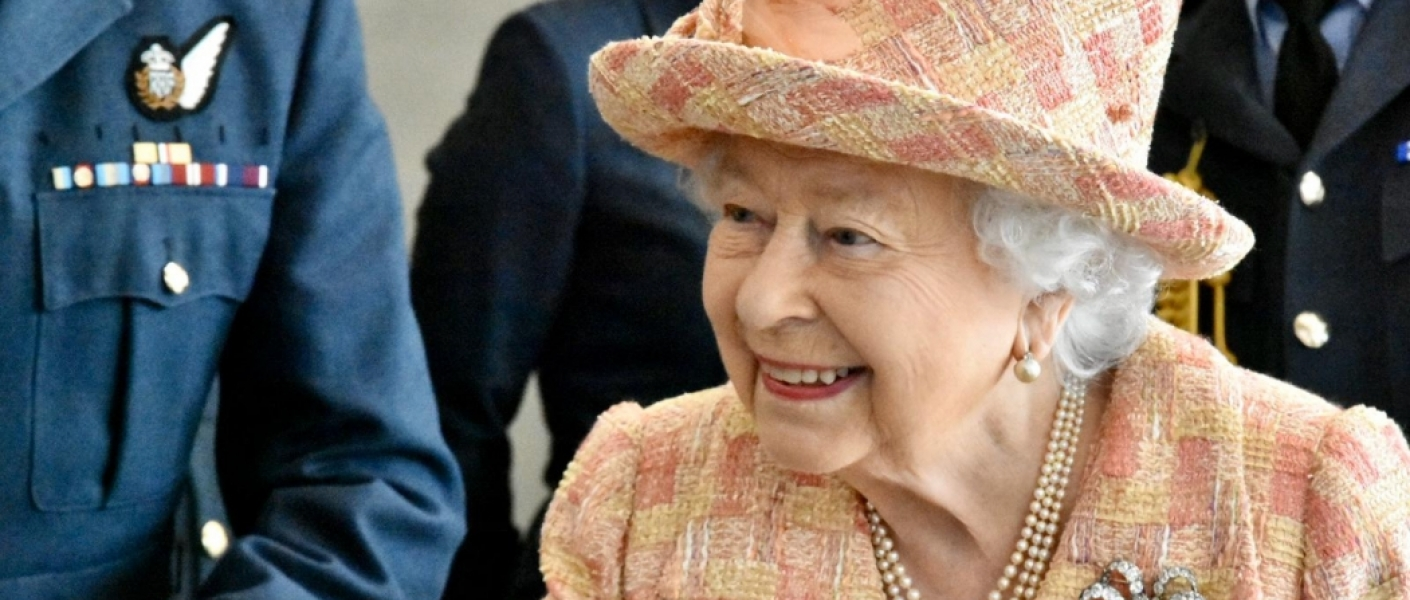 The Queen visits RAF Marham