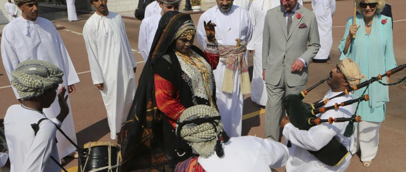 The Prince of Wales and The Duchess of Cornwall begin their Royal tour in Oman