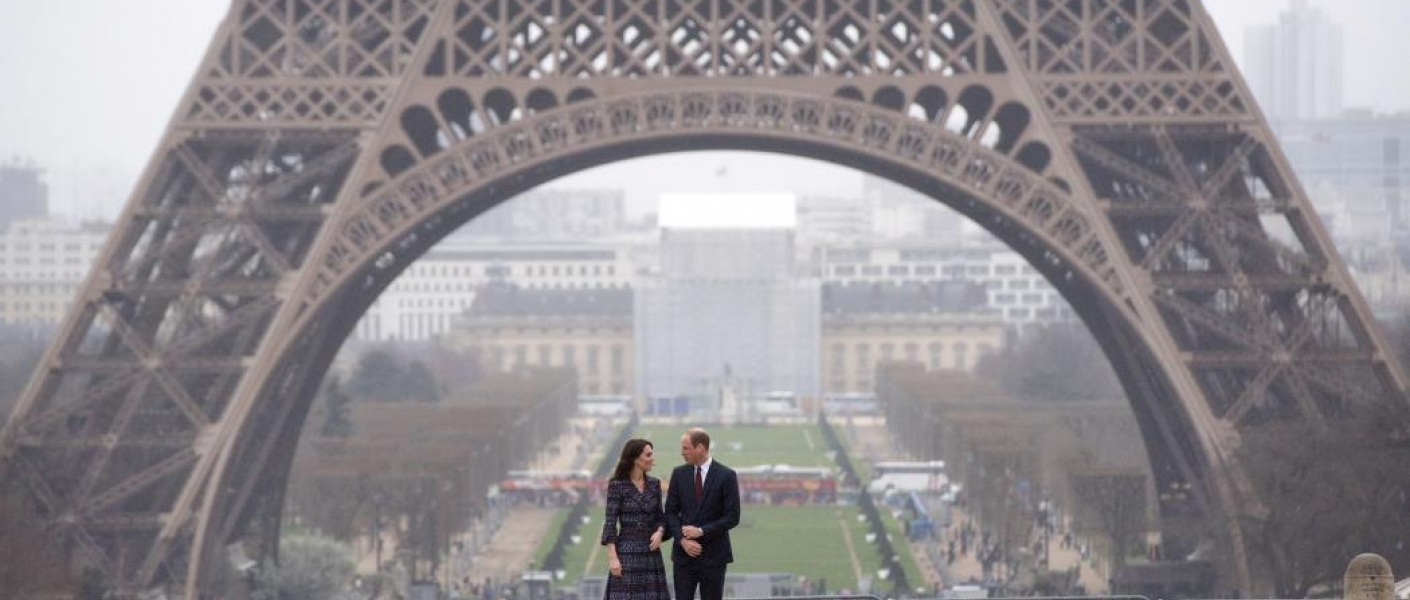 The Duke and Duchess attend Royal tour of Paris