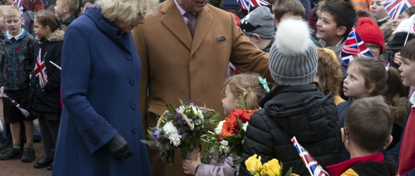 The Prince of Wales and The Duchess of Cornwall visit Cambridgeshire