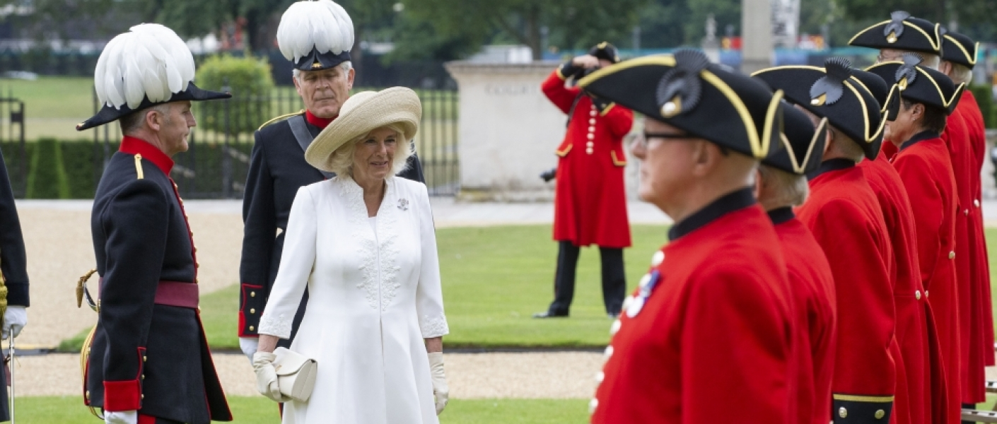The Duchess of Cornwall at the Chelsea Pensioners Parade