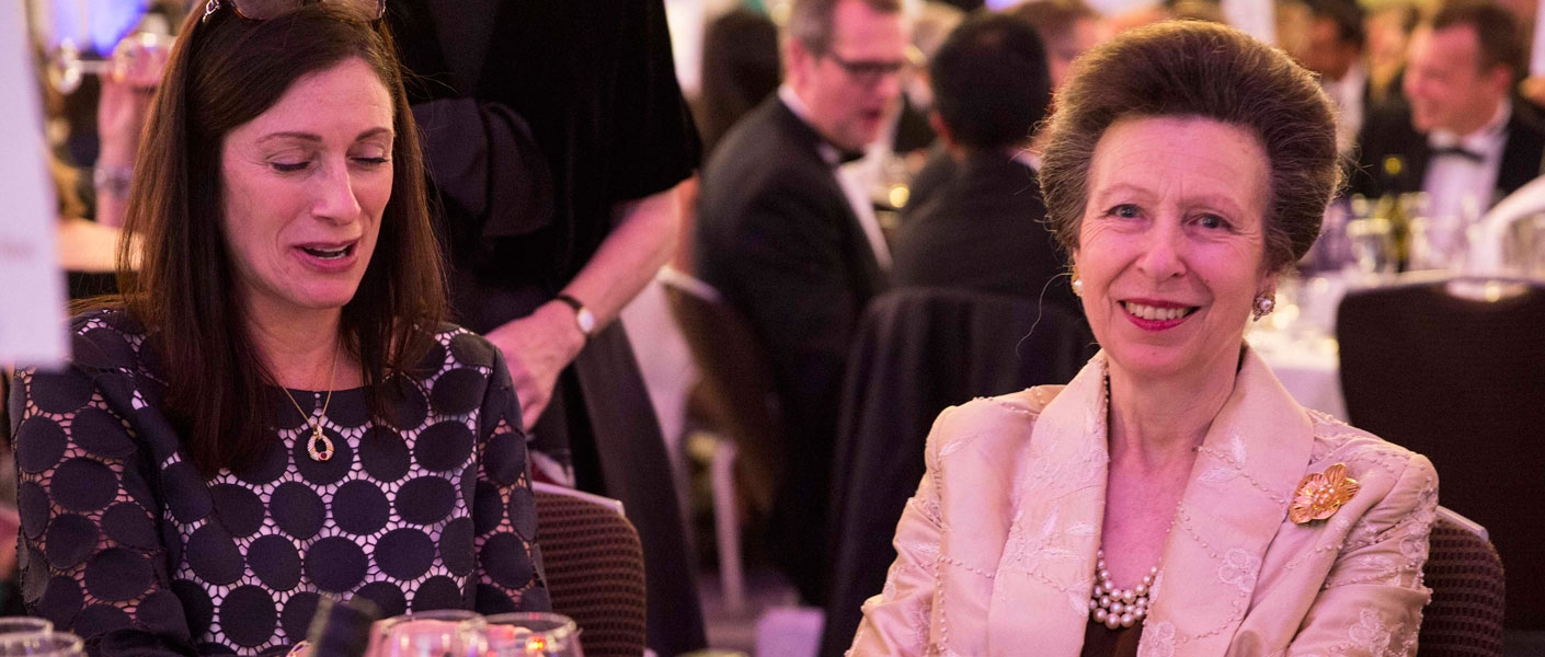 The Princess Royal presents the WISE Awards