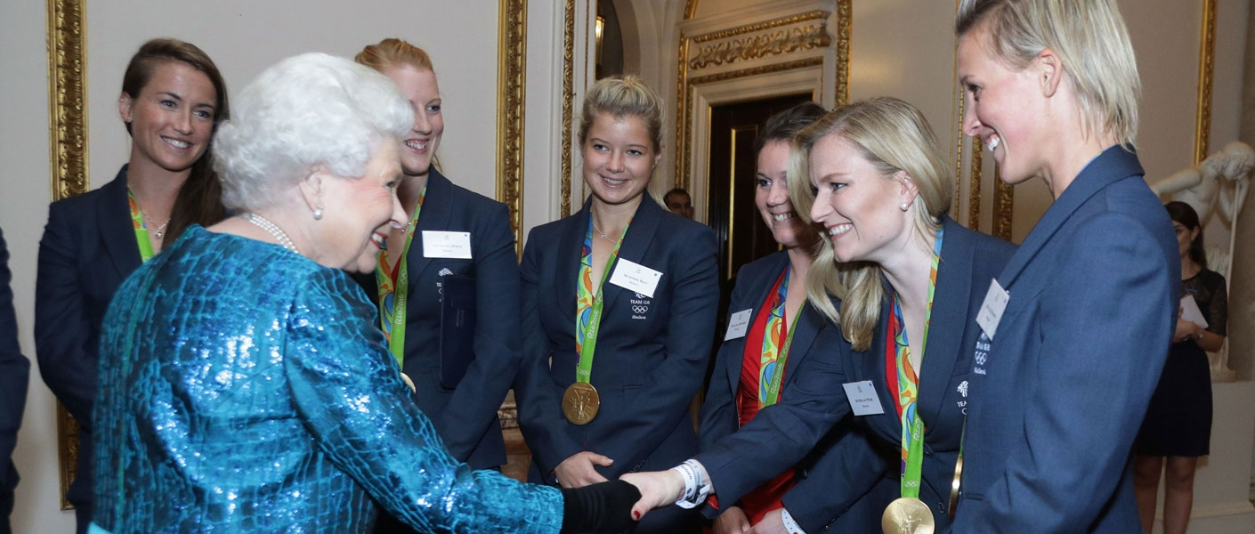 The Queen and The Duke of Edinburghgive a reception for Medallists at the 2016 Olympic and ParalympicGames
