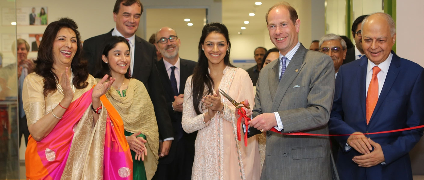 The Earl of Wessex opens the DICE Healthcare & Wellness Accelerator in Mumbai