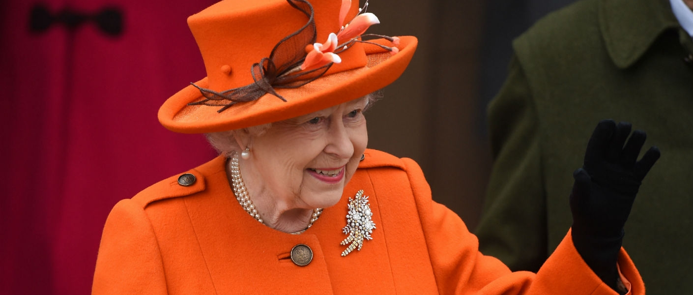The Queen on Christmas Day 2017