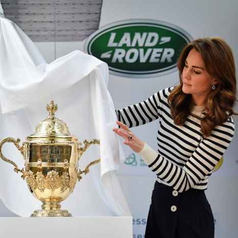The Duke and Duchess of Cambridge unveil The King's Cup