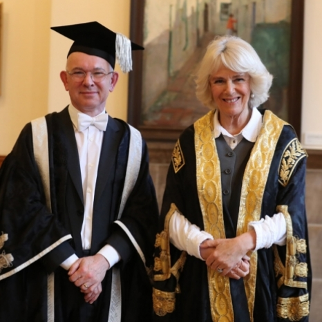 The Duchess of Rothesay visits the University of Aberdeen