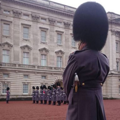 Behind the scenes at Changing the Guard