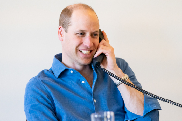 The Duke of Cambridge thanks over 300 NHS staff and volunteers for their work throughout the pandemic.