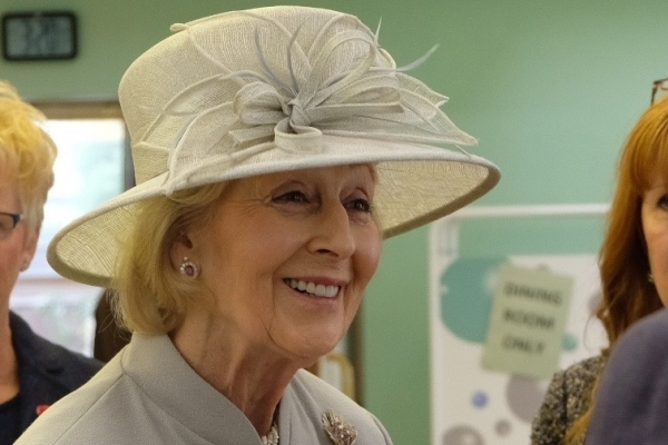 Princess Alexander visits Care for Veterans in Worthing