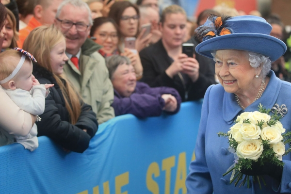 The Queen visits Hull November 2017
